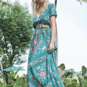 ***ISO***SPELL & the Gypsy Teal Babushka Gown M
